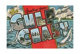 Greetings from the Gulf Coast, Florida Giclee Print