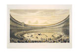 The Plaza De Toros of Madrid Reproduction procédé giclée
