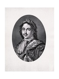 Peter the Great Engraving Giclee Print