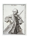 Portrait of Leopold Mozart Giclee Print