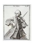 Portrait of Leopold Mozart Giclee Print