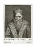 Portrait of Polidoro Da Caravaggio Giclee Print
