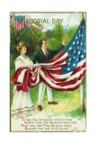 Memorial Day Postcard Giclee Print