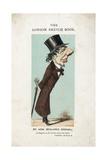 Rt. Hon. Benjamin Disraeli Caricature Giclee Print