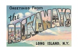 Greetings from the Rockaways, Long Island, New York Giclee Print