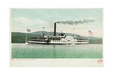 "Steamer ""Horicon"" on Lake George Postcard Giclee Print"