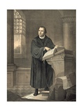 Martin Luther in His Study Giclee Print