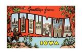 Greetings from Ottumwa, Iowa Giclee Print