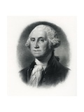 Official Portrait of President George Washington Giclee Print