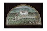 View of Villa La Peggio Giclee Print