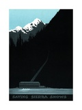 Saving Sierra Snows Power Company Advertisement Giclee Print