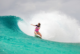 Roxy Pro Gold Coast: Mar 4 - Bianca Buitendag Photographic Print by Kelly Cestari