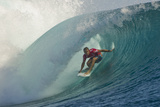 2013 Volcom Fiji Pro: Jun 4 - Josh Kerr Photographic Print by Steve Robertson