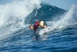2013 Volcom Fiji Pro: Jun 4 - Mick Fanning Photographic Print by Steve Robertson