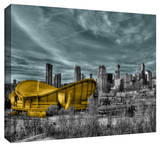 Calgary Stretched Canvas Print