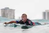 2014 Quiksilver Pro Gold Coast: Mar 3 - Mick Fanning Photographic Print by Kelly Cestari