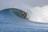 2013 Oakley Pro Bali: Jun 26 - John John Florence Reproduction photographique par Kirstin Scholtz