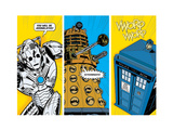 Doctor Who - Comic Sections Plakát