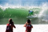 2013 Rip Curl Pro: Oct 9 - Filipe Toledo Photographic Print by Kelly Cestari