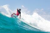 2014 Quiksilver Pro Gold Coast: Mar 2 - Julian Wilson Photographic Print by Kelly Cestari