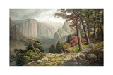Yosemite Valley after Andrew W. Melrose Giclee Print