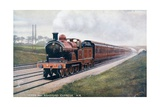 Postcard Showing the Leeds and Bradford Express of the Midland Railway Giclee Print