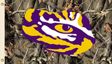NCAA Louisiana State Tigers Realtree Camo Flag with Grommets Flag