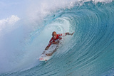2010 Billabong Pro: Aug 31 - Kelly Slater Photographic Print by Steve Robertson