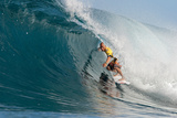 2010 Billabong Pipeline Masters: Dec 16 - Kelly Slater Photographic Print by Kelly Cestari