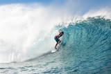 2013 Billabong Pipe Masters: Dec 10 - Miguel Pupo Photographic Print by Kelly Cestari