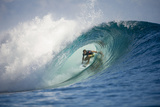2013 Volcom Fiji Pro: Jun 4 - Kieren Perrow Photographic Print by Steve Robertson