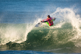 2013 Rip Curl Pro: Oct 9 - Julian Wilson Photographic Print by Kelly Cestari