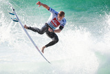 2013 Quiksilver Pro France: Oct 4 - Mick Fanning Photographic Print by Kelly Cestari