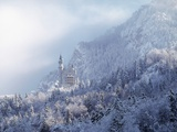 Neuschwanstein Castle Photographic Print by Ray Juno