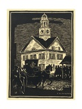 The Continental Congress Meeting at the York Courthouse Giclee Print
