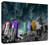 Toronto Stretched Canvas Print