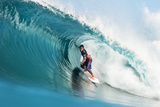 2013 Billabong Pipe Masters: Dec 8 - Kahea Hart Photographic Print by Kelly Cestari