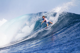 2013 Volcom Fiji Pro: Jun 4 - Matt Wilkinson Photographic Print by Kirstin Scholtz