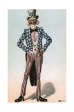 Postcard of Uncle Sam Giclee Print
