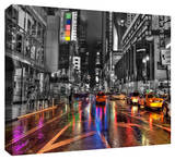 NYC Stretched Canvas Print