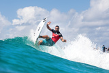 2014 Quiksilver Pro Gold Coast: Mar 2 - Joel Parkinson Photographic Print by Kelly Cestari