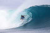 2013 Volcom Fiji Pro: Jun 6 - Dusty Payne Photographic Print by Kirstin Scholtz