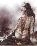 Subversive Beauty Print by Luis Royo