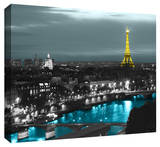 Paris Gallery Wrapped Canvas