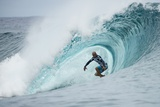 2013 Billabong Pro Teahupoo: Aug 18 - Kelly Slater Photographic Print by Kelly Cestari