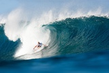 2013 Billabong Pipe Masters: Dec 10 - Mick Fanning Photographic Print by Kelly Cestari