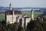 Germany, Bayern, Allgau, Fussen, Schloss Neuschwanstein Castle Photographic Print by Bryan Pickering