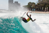 2014 Quiksilver Pro Gold Coast: Mar 4 - Adam Melling Photographic Print by Kelly Cestari