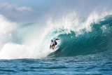 2013 Billabong Pipe Masters: Dec 10 - Kelly Slater Photographic Print by Kelly Cestari