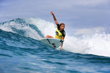 Roxy Pro Gold Coast: Mar 4 - Lakey Peterson Photographic Print by Simon Williams